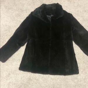Theory fur jacket size M